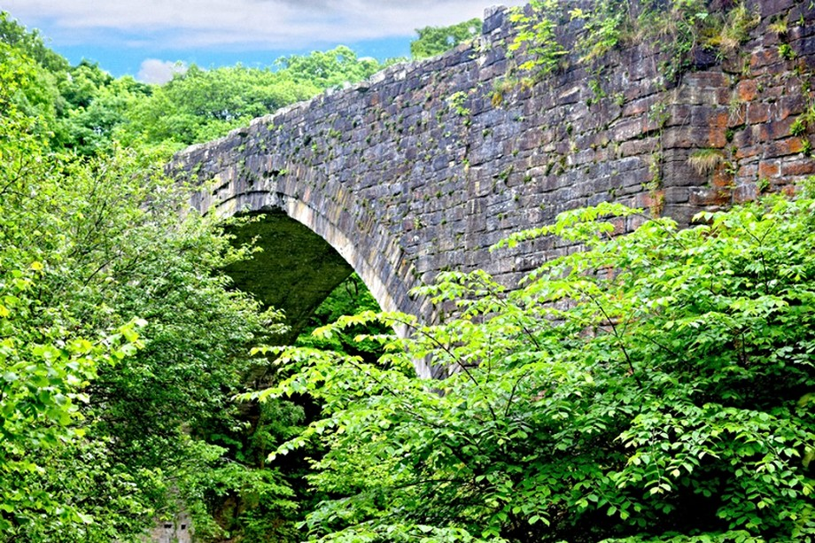 Worlds oldest railway bridge
