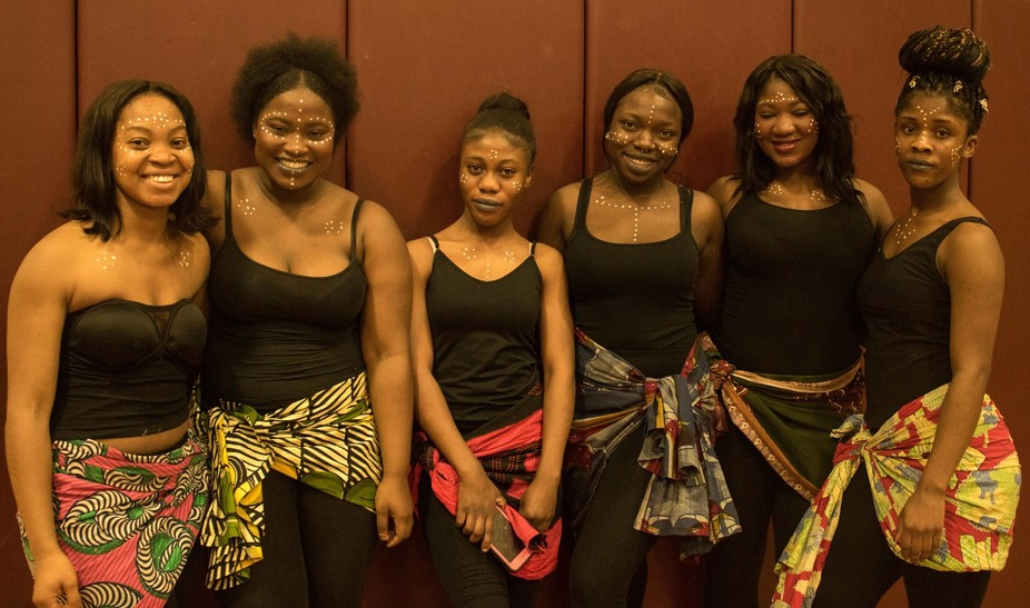 These lovely ladies performed at Multi Cultural Day at NHTI Concord Community College