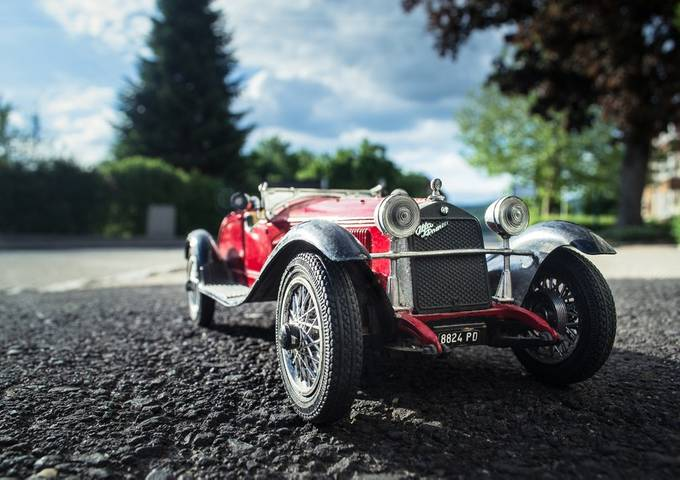 Oldtimer by akphotographystudio - My Favorite Car Photo Contest
