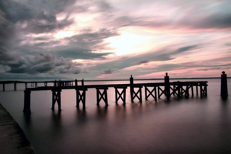 Nice capture of pier in Sanford