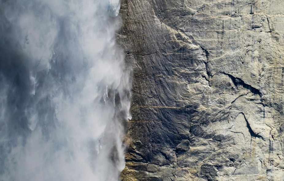 Record snow melt year for waterfalls in Yosemite National Park, California