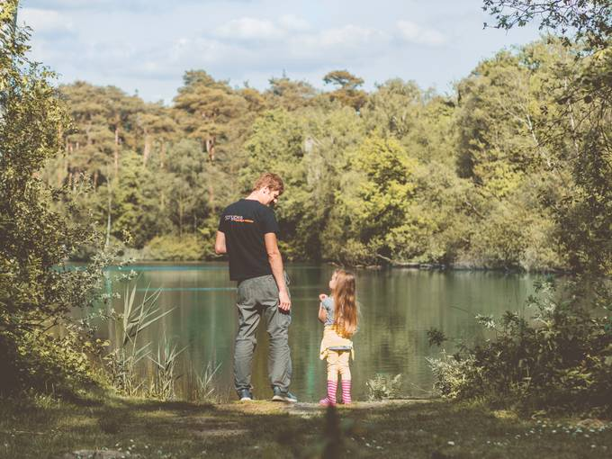 Father and daughter in the wild  by doroteiaivanova - We Love Our Dads Photo Contest