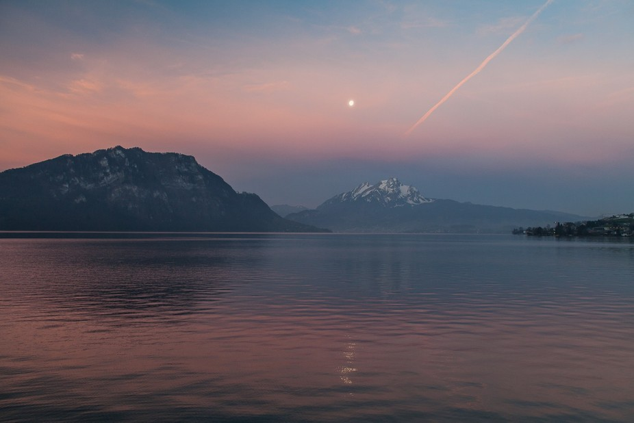 Lake Lucerne Sunrise