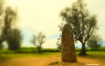 Neolithic Menhir of the Almendres.