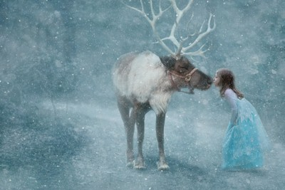 Elsa and Sven