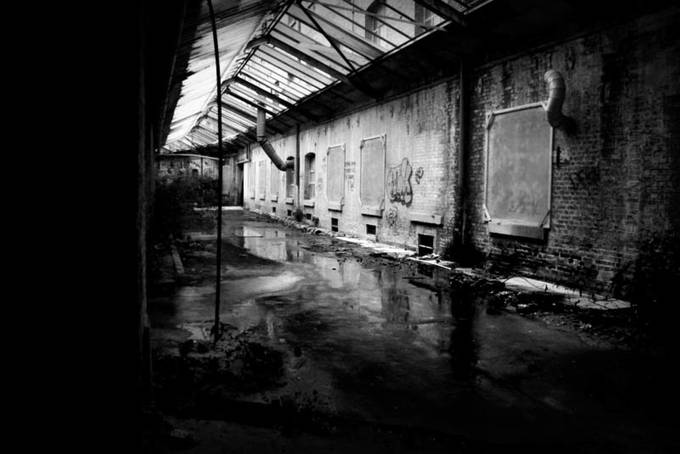 Abandoned Building  by isabellapaolini - Warehouses Photo Contest