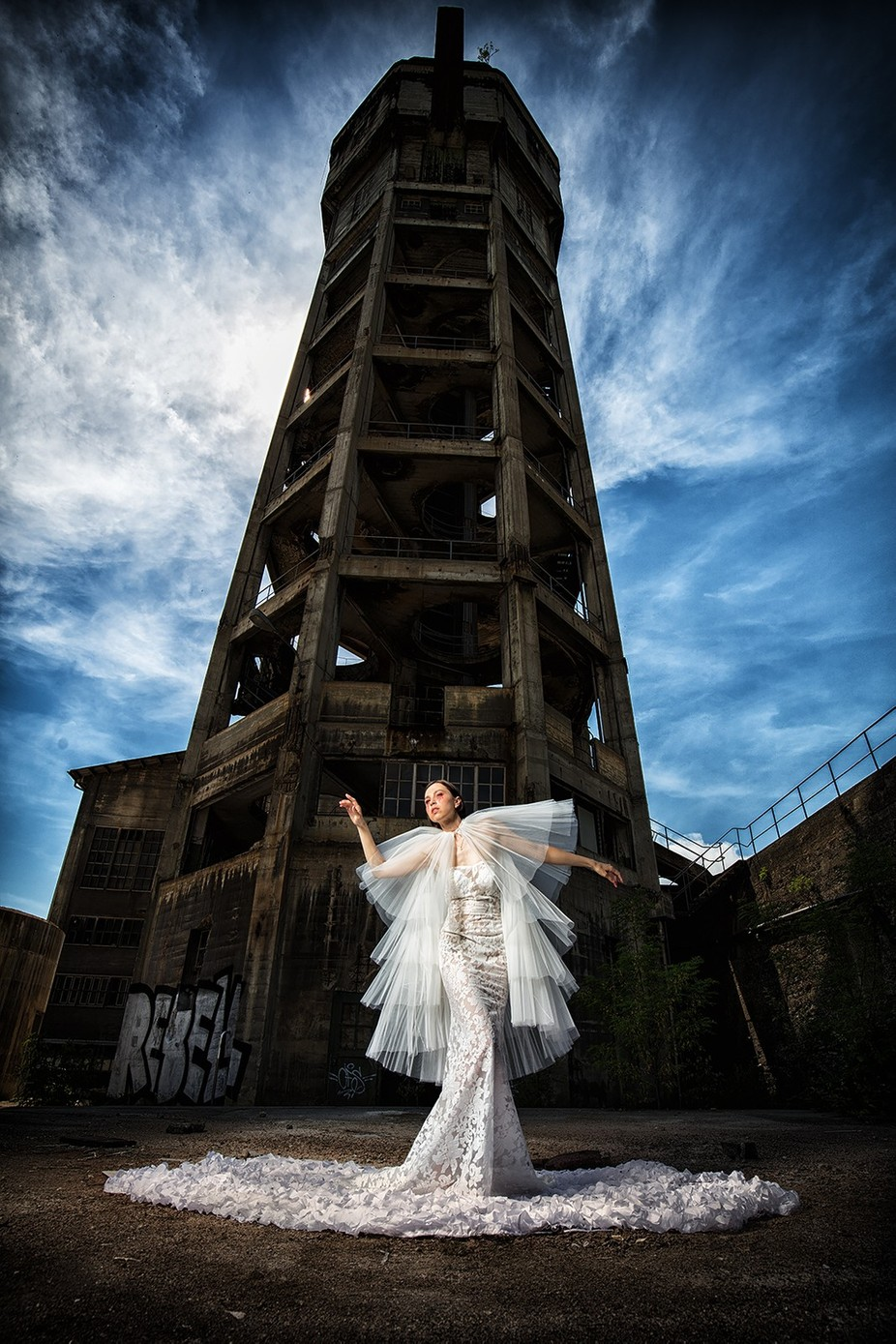 the tower by christiangigerphotography - Weddings And Fashion Photo Contest