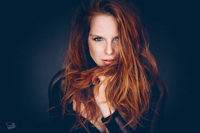 Fire by SeldaPhotography - Red Hair Photo Contest