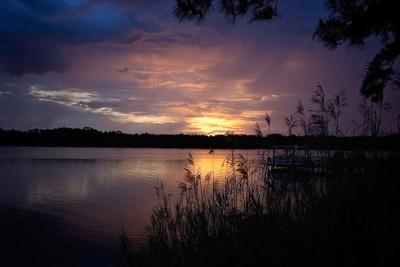 Sunrise on Lake Powell