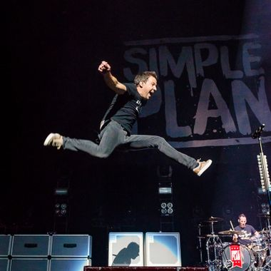 Simple Plan at Bell Center - Montreal