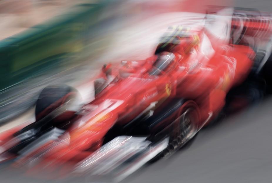 """""""on Pole"""" KIMI RAIKKONEN 7 FERRARI F1 MONACO 2017"""