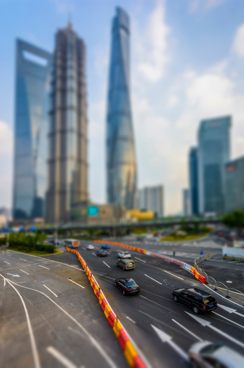 Shanghai Pudong tilt-shift by zenit - TiltShift Effect Photo Contest