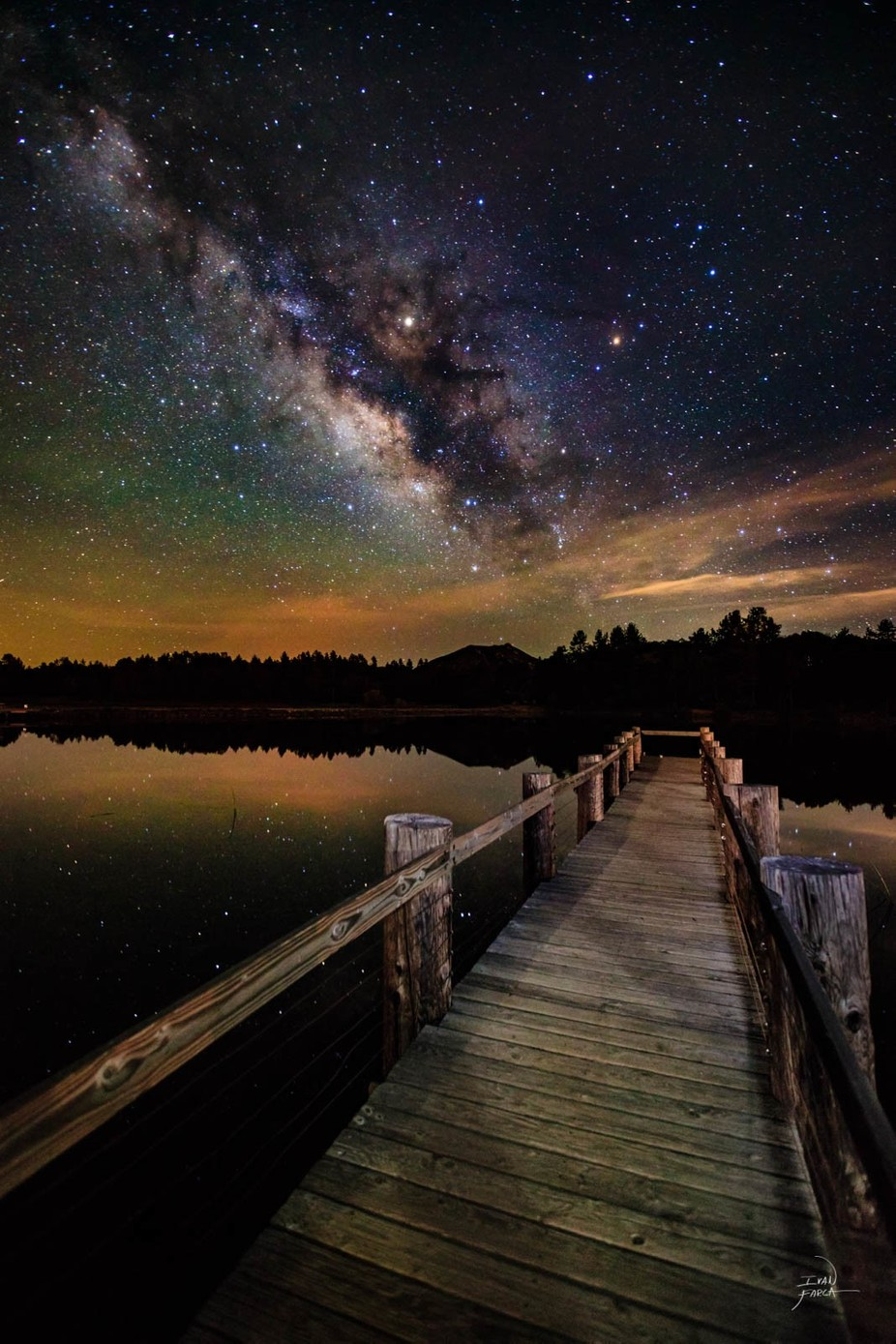 Celestial dock by ifarca - Promenades And Boardwalks Photo Contest