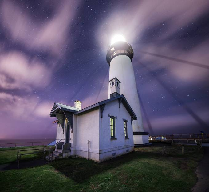 Yaquina Head Light, Oregon by intheloupe - Shades Of Purple Project