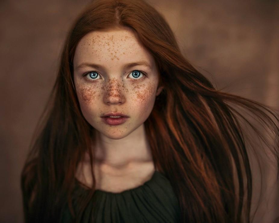 Natural light fine art child portrait
