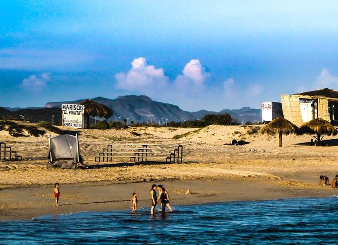 Miles of uncrowded beaches in San Carlos, Mx