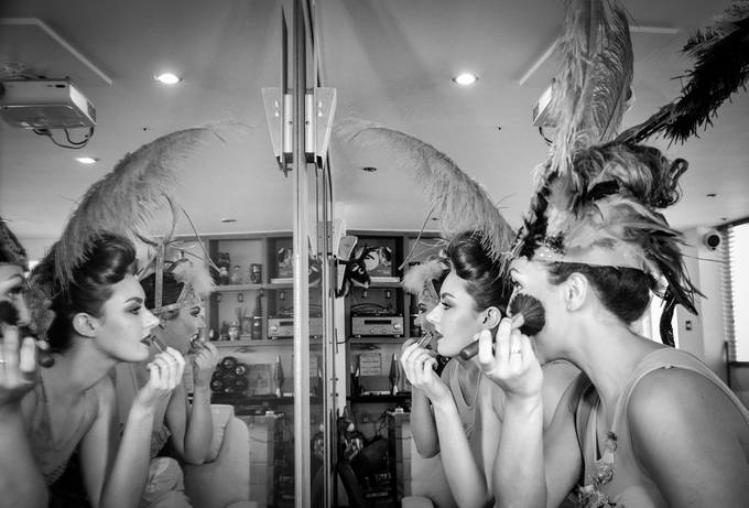 Dancers Behind The Scenes by clairegriffiths - Mirror Mirror On The Wall Photo Contest