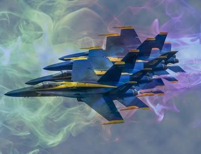 Blue Angel formation