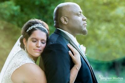 Love on their wedding day