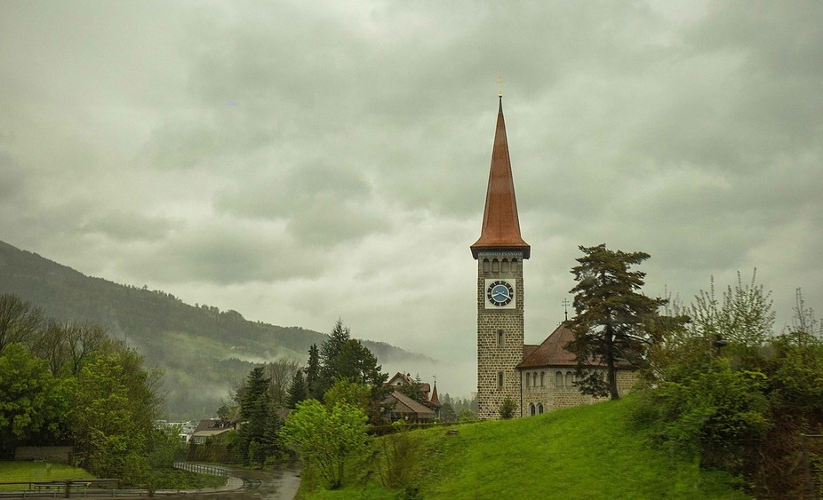 Peaceful, picturesque Switzerland Countryside