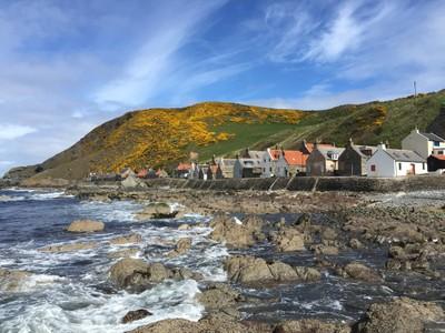 Crovie in the Scottish Highlands