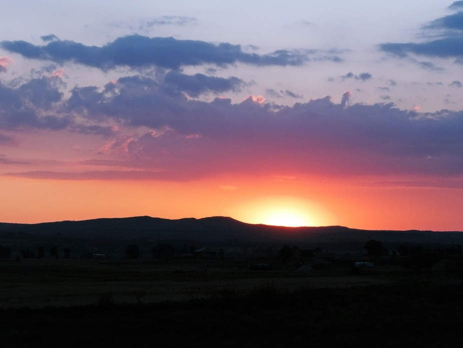 Taken somewhere between Clarens and Fouriesburg in the Free State, South Africa, while on a very ...