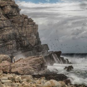 Cape Point was once known as the Cape of Storms for good reason.