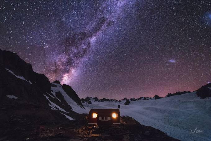 Almer Hut Milky Way by Mack_Photography - Color In The Night Photo Contest