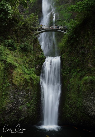 AD8I9513 Multnomah Falls Oregon