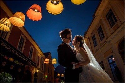 Pre-wedding photo shoot at Szentendre (Hungary)