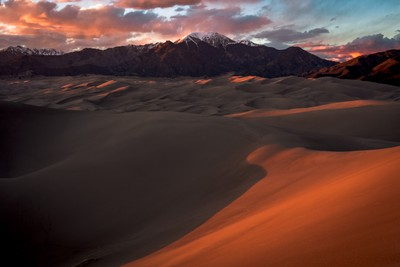Sunset on the Sands - Sand Dunes +Vallecito 5.2017(IMG_4598