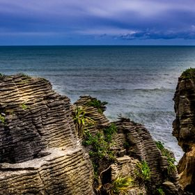 Taken on the West Coast of the South Island of NZ, Punakaiki is an icon beauty spot.