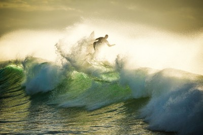 Surfing the top
