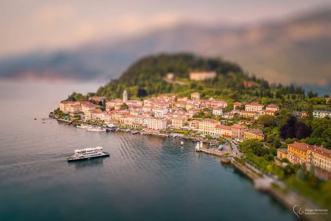 Tiny Bellagio by SirDiegoSama - TiltShift Effect Photo Contest