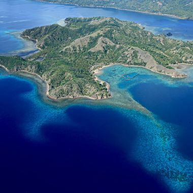 taken from ultra light aircraft, around coastal area called Mati in Southern  Philippines