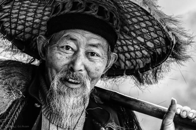 Fisherman by q-liebin - Male Portraits Photo Contest