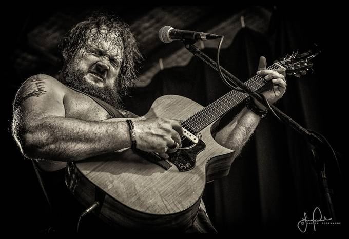 Mike Elrington by JRosewarne - On Stage Photo Contest