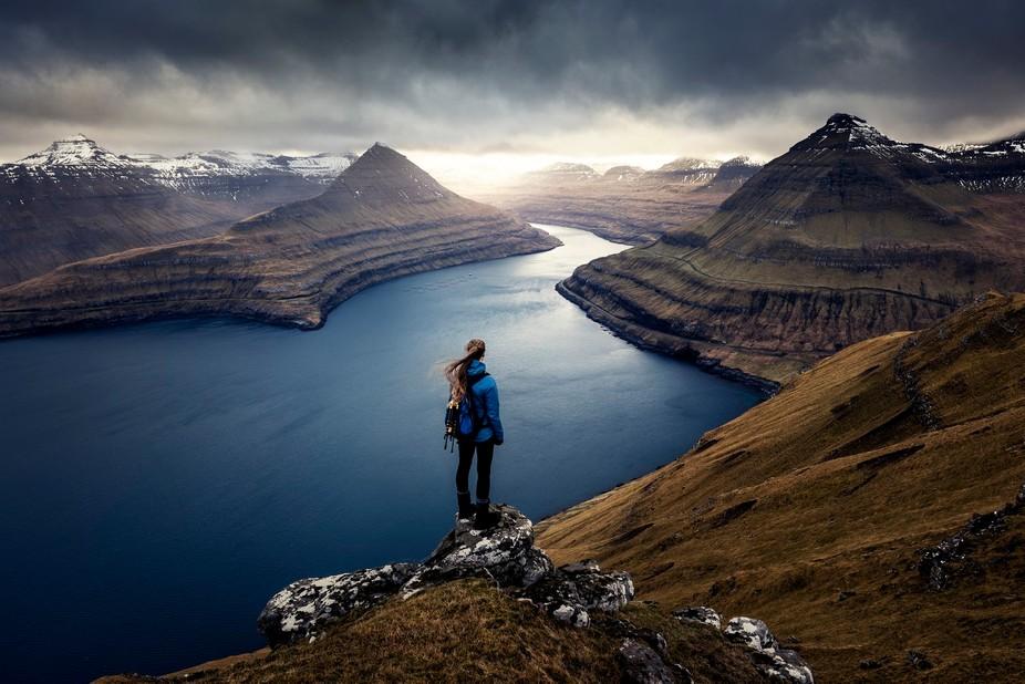 The Faroe Islands hike