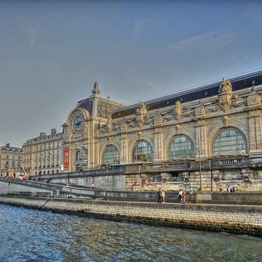 Musee d'Orsay  Taken from The Bateau Mouche on the Seine