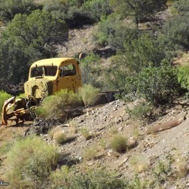 abandonded truck Carlisle NM