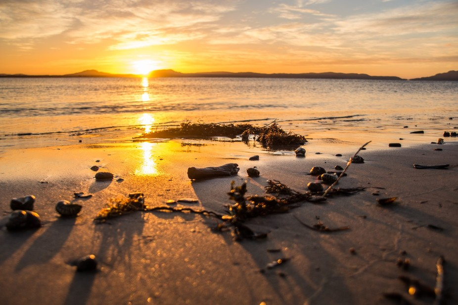 Beach life sunrise