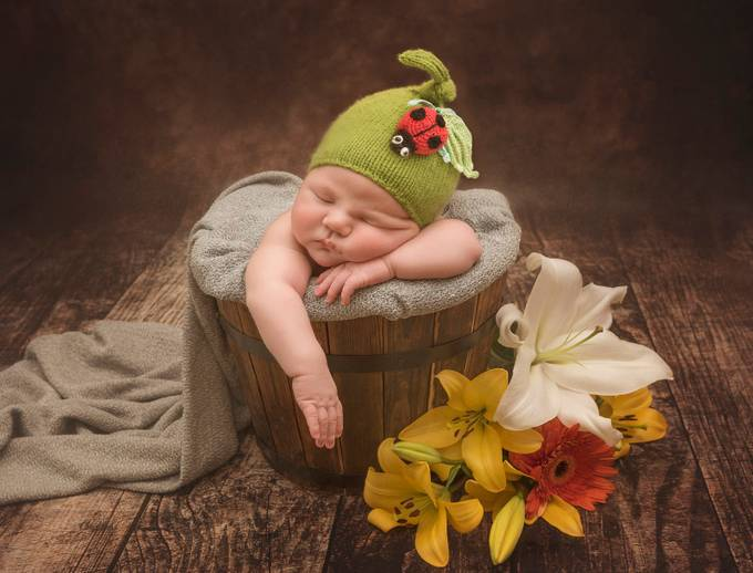 Floral by alesiabeloysova - Babies Are Cute Photo Contest