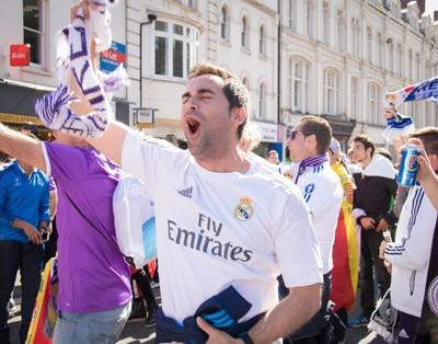 Real Madrid Fan -- Champions League Final 2017 -- Cardiff