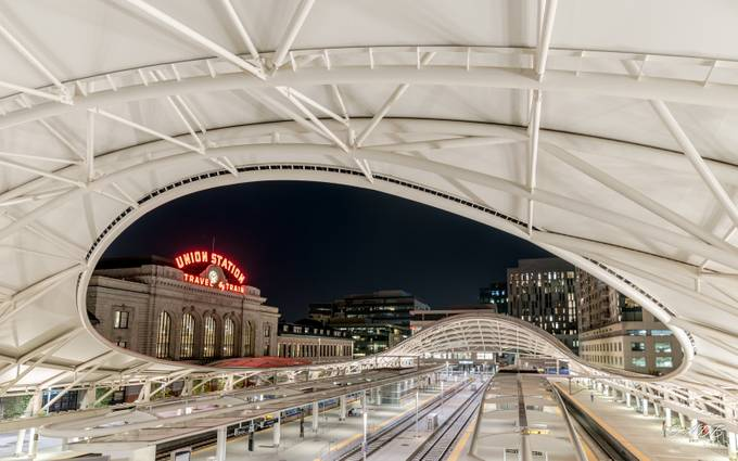 Denver Union Station by angelabranson - My Favorite City Photo Contest