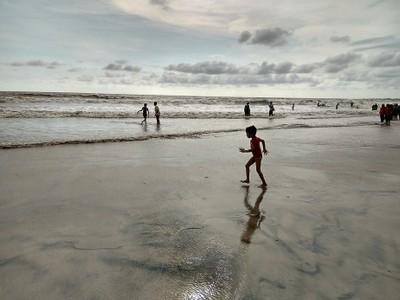 Let's walk on beach