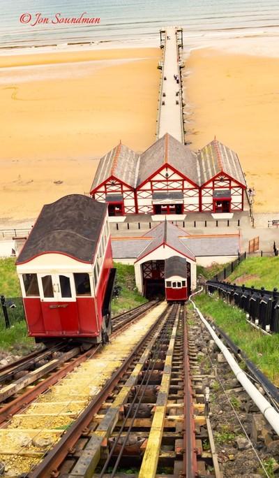 Saltburn tramway & pier