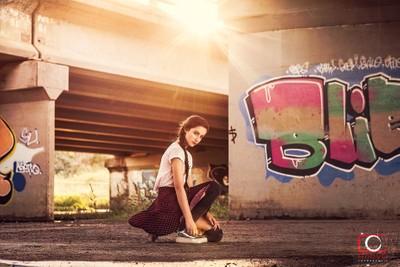Urban girl...