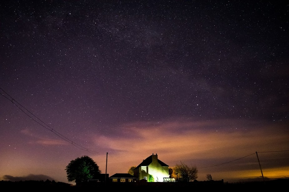 One of my most successful attempts to capture an image of the milkyway core, turns out id been lo...