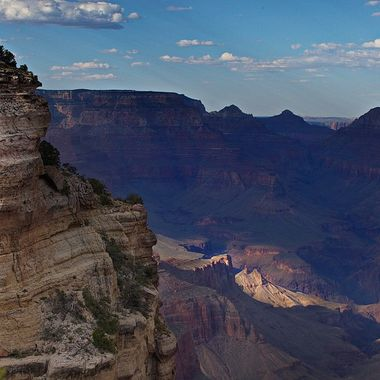 Gran Canyon in the  morning