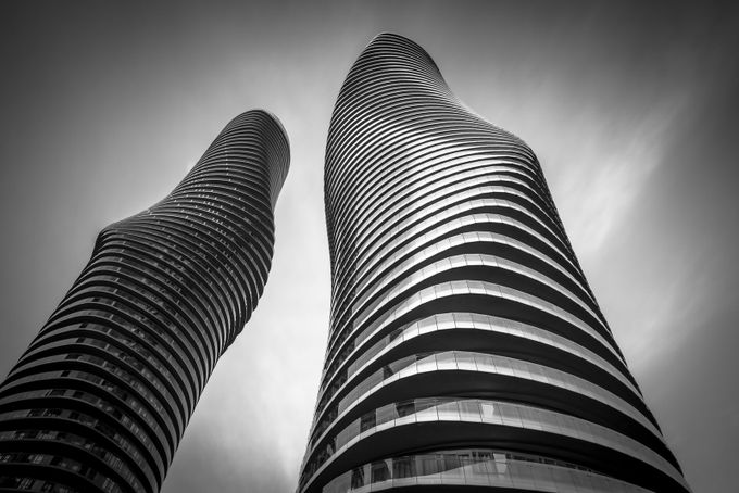 ...The Absolute World Towers aka Marilyn Monroe Towers by jaroslavbil - Tall Structures Photo Contest